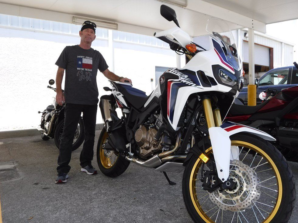 TERRY - 2017 HONDA AFRICA TWIN